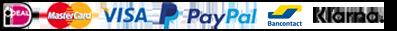 iDeal, Mastercard, Visa, Paypall